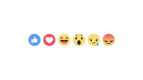 facebook comment reactions icons