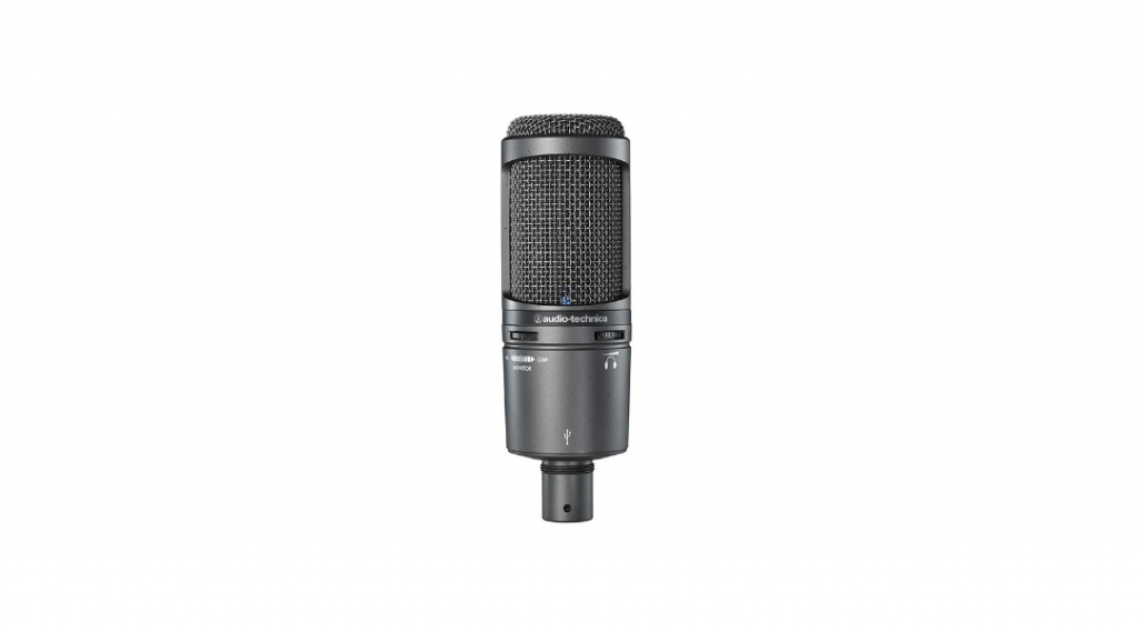 Image of the Audio Technica AT2020USB microphone