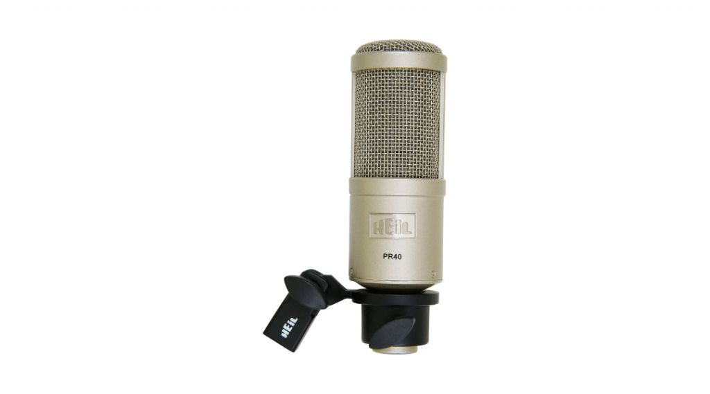 Image of the Heil PR40 microphone