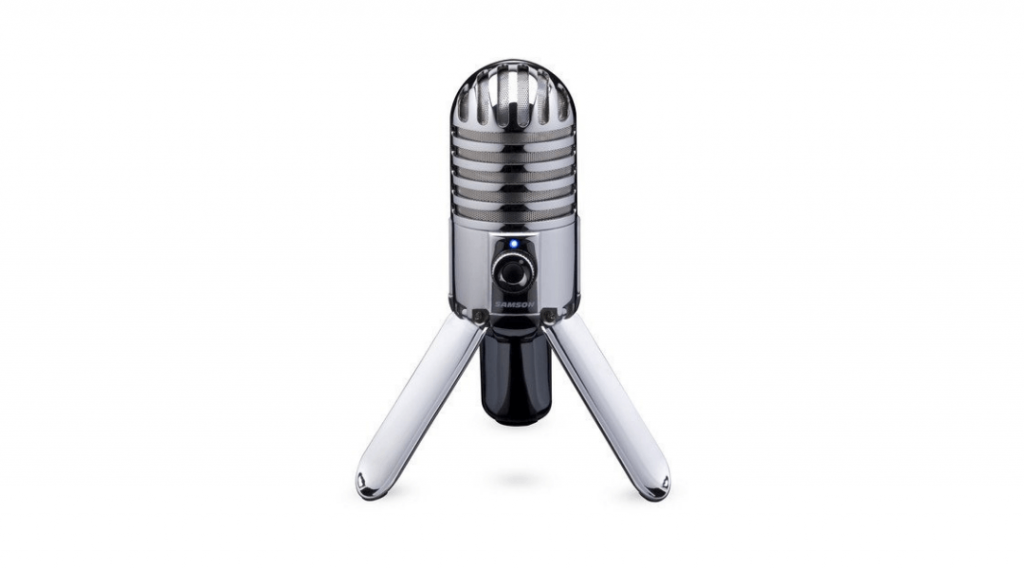 Image of the Samson Meteor microphone