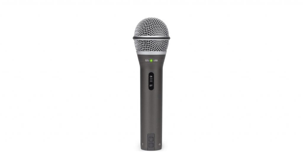 Image of the Samson Q2U microphone