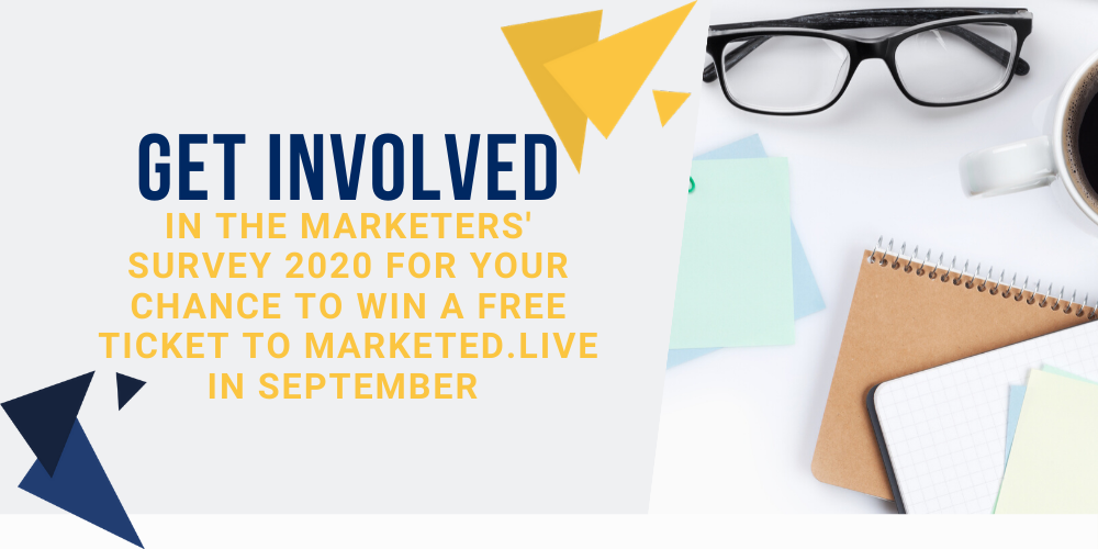 get involved marketers survey