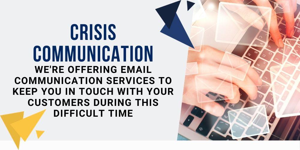 crisis communication service promo